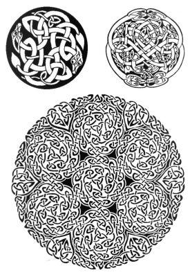 Татуировки кельтские узоры
